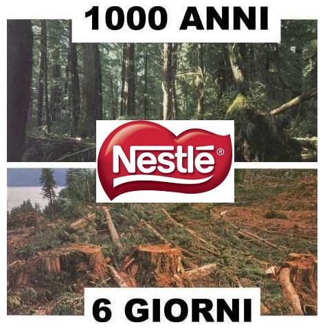 deforestazioni by Nestlé