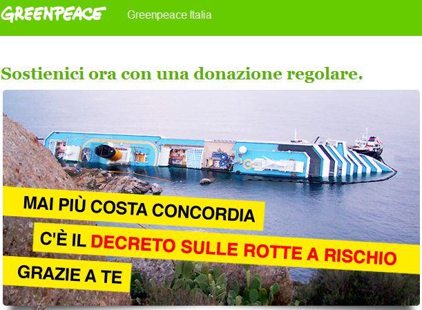 GreenPeace vs Rotte a Rischio