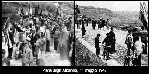 strage piana albanesi
